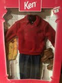 Barbie KEN Fashion Avenue Winter Traveler Outfit Fashions (1997)