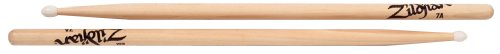 Zildjian 7Ann 7A Nylon Tip Natural Drumsticks