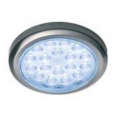 Luminoso Led, 12V, Sunny, Round, Recessed, Brushed Steel, Warm, White, 3200K, 58Mm Diameter