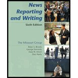 News Reporting and Writing (0312180195) by Kennedy, George