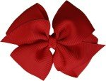 Posies Accessories Basic Grosgrain Red Hair Bow
