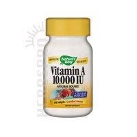 Way vitamine de la nature A 10,000 IU, 100
