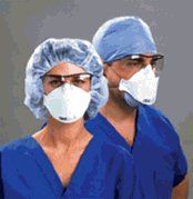 3M 1870 N95 RESPIRATOR AND SURGICAL MASK WITH BIRD FLU KIT!