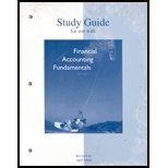 Study Guide to accompany Financial Accounting Fundamentals by John Wild
