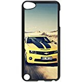 iPod 5 Cases, Bumper Protection [Heavy Drop Protection] Personalized Camaro Ss Bumblebee Muscle Car Creativity Protective Hard PC Plastic Black Edge Case Cover for Apple iPod Touch 5 5th Generation (5th Generation Camaro Accessories compare prices)