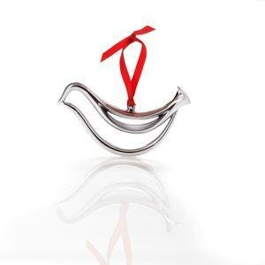 Nambe Classic Modern Dove Ornament