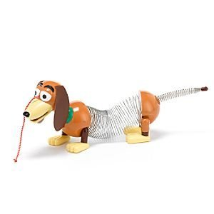 "DISNEY PIXAR TOY STORY 2 - LARGE SLINKY THE DOG 15"" - EXTENDS TO 24"""