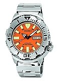 "SEIKO MEN'S SKX781 ""ORANGE MONSTER"" AUTOMATIC DIVE WATCH fashion  ""ORANGE Wristwatch Western Style Water Resistant Watch Technological Creation Stainless Steel Case SKX781 seiko skx781 seiko orange monster croatia seiko orange monster club seiko orange monster automatic dive watch seiko orange monster seiko monster seiko mens skx781 Seiko Men Seiko Automatic SEIKO Screw Down Quartz Watch orange watch Orange Monster Movement Functions MONSTER"" Men's Lumibrite Hands Kintaro Iso Standards Involuntary Movement Durable Stainless Steel Dive Watch Dive Clock Position Automatic Arm Band Amazon"