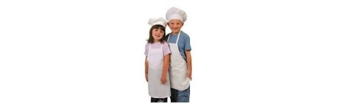 Kids Chef Costume Apron Only (hat not included)