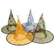 Halloween Decoretion Bar Tool Monolayer Witch&Wizard Cosplay Hat