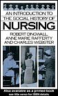 img - for An Introduction to the Social History of Nursing book / textbook / text book