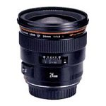 Canon EF 24mm f/1.4L USM Wide Angle Lens for Canon SLR Cameras