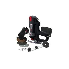RotoZip RZ20-4000 Variable Speed Spiral Saw Kit with Zipmate, Circle Cutting Attachment, and Jig Saw Handle