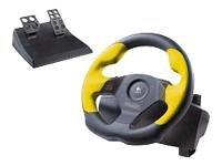 Logitech WingMan Formula GP - Wheel and pedals set - 4 button sB00009VRFW : image