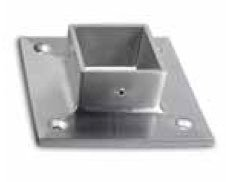 Inline design stainless steel square flange flange for 1 inch square floor flange