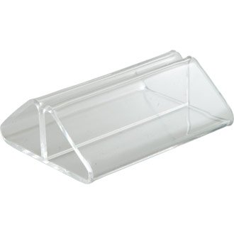 WIN-WARE Tent Menu Card Display Holder / Stand. Acrylic card holders ...