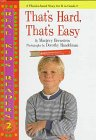 img - for That'S Hard, That'S Easy (Real Kid Readers: Level 1) book / textbook / text book