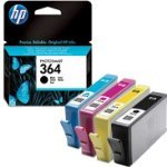 Special - Original HP 364 Photo Value Pack - includes 4 x ink cartridge cyan magenta black yellow