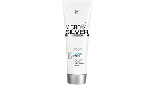 Micro Silver Plus Tooth Paste - With Pure Silver - 75 Ml - Cleans And Cares For Gums And Teeth