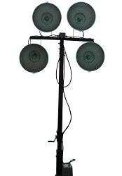 4000 watt metal halide light tower on 12 foot single axle. Black Bedroom Furniture Sets. Home Design Ideas