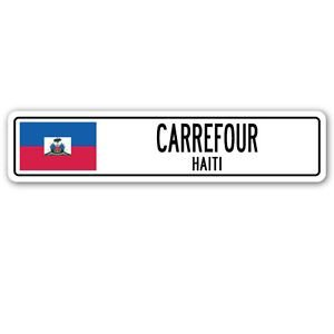 carrefour-haiti-street-sign-sticker-decal-wall-window-door-haitian-flag-city-country-road-wall-825-x