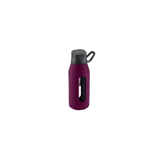 NEW Glass Water Bottle 20oz Purple (Kitchen & Housewares)