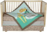Lolli Living Zig Zag Zoo 4 Piece Crib Set