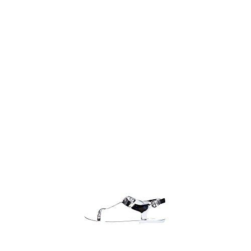 Michael Kors 40S5PLFA1Q Sandalo Donna Pvc Silver Silver 41