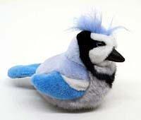 Plush Animal: Blue Jay