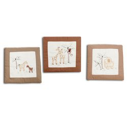 Nojo Organic Nature Wall Hanging - Set of 3 - 1