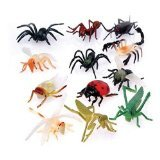 US Toy - Assorted Mini Insect Bug Figures, Lot of 12, 2