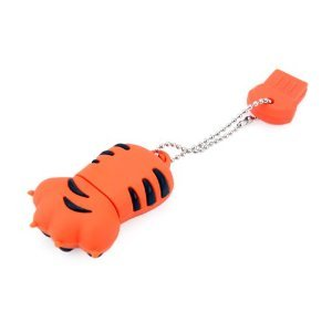 High Quality 32 GB Claw USB Flash drive (Orange) by T &  J