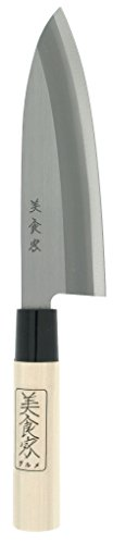Kotobuki Japanese Banno Chef's Knife, 6 to 1/2-Inch, Silver
