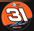 Jeff Burton Official NASCAR 3 inch Diameter Vinyl Car Decal by Wincraft