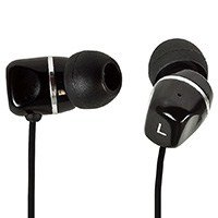 Form Fitting Hi-Fi Noise Isolating Earphones - Black [Electronics]