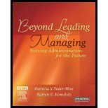img - for Beyond Leading & Managing Nursing Administration (06) by FAAN, Patricia S Yoder-Wise RN EdD NEA-BC ANEF - FAAN, K [Hardcover (2006)] book / textbook / text book