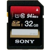 Sony 32GB SDHC UHS-1 Class 10 Memory Card, 2 Pack (SF32UXD/TQN)