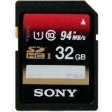 Sony 32GB SDHC UHS-1 Class 10 Memory Card, 2 Pack (SF32UXD/TQN)