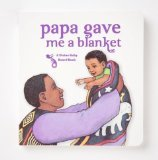"Divine Baby Papa Gave Me a Blanket, White, 7"" x 6.5"""