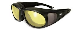 Global Vision Outfitter 24 Sunglasses w/ Photochromic Yellow Lenses