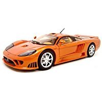 MotorMax 2004 Saleen S7 Die-cast 1:18 Scale Collectible Model Car (Orange) (Collectible Model Cars compare prices)