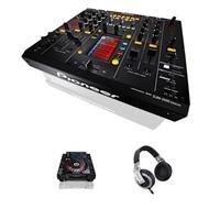 Pioneer Djm-2000Nxs Nexus Professional Performance Dj Mixer - Bundle - With 2 Cdj-2000Nexus Professional Multi-Players, Hdj-2000 Reference Dj Headphones