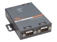 Lantronix UD2100002-G1 Device Server UDS 2100 - Device server - 2 ports - 10Mb LAN, 100Mb LAN, RS-232, RS-422, RS-485