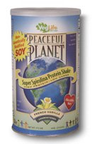Organic Peaceful Planet Super Spirulina Protein Shake (French)