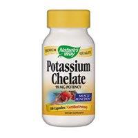 Way potassium chélate de la nature, 100 Capsules