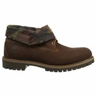Timberland Men's Red Briar Nubuck with Camo Icon Roll-Top Le
