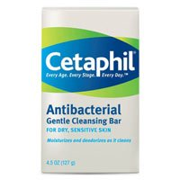 Cetaphil Gentle Cleansing Bar, Antibacterial