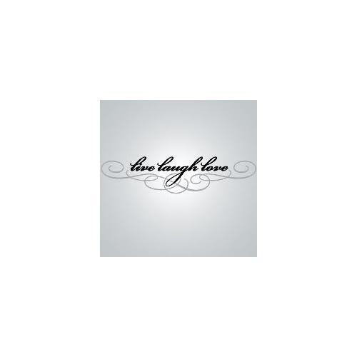 Live Laugh Love Vinyl Wall Decal   World Market
