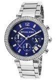 Michael Kors MK6117 39mm Silver Steel Bracelet & Case Mineral Women's Watch