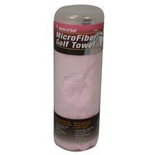 World of Golf Micro Fiber Towel - Pink